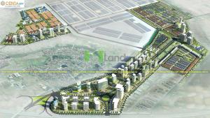 Phối Cảnh Tổng Thể Centa City Bắc Ninh